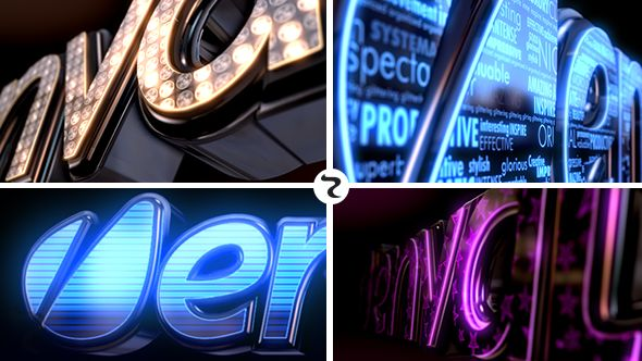 LED Logo  • See it in action ➝ https://videohive.net/item/led-logo/5959831?ref=pxcr