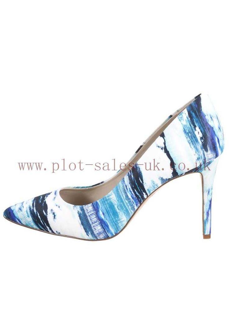 Women\'s Navy Heels Heels Multicolor