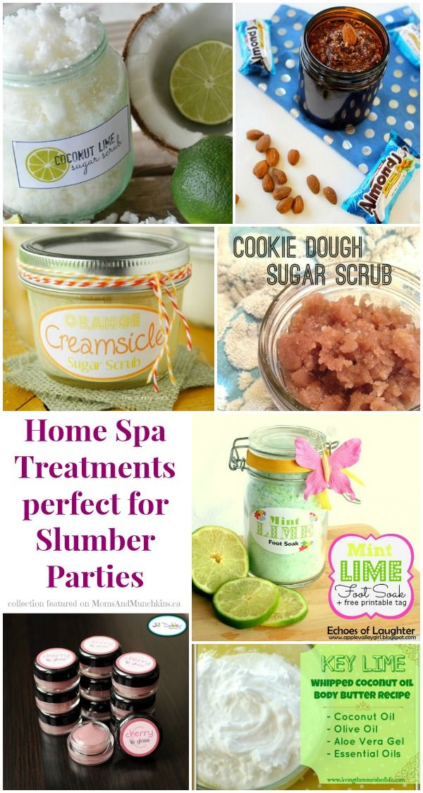 Slumber Party Activities - Spa Treatments #SlumberParty