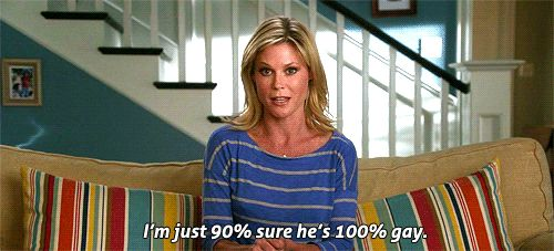 """5. The time she tested her gaydar accuracy. 