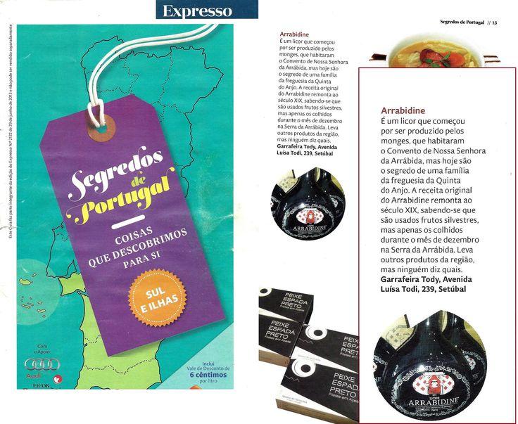 Clipping: Guia Segredos de Portugal, suplemento pontual EXPRESSO - 29/06/2013