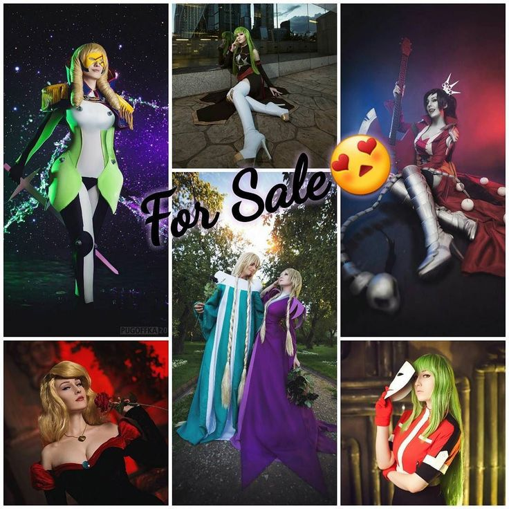 I really have to sell these costumes to make new one and really gorgeous cosplay from #lineage2 :) #WindowStar from #Stardriver #CC from #CodeGeass #Marceline from #AdventureTime  #Odette from #TheSwanPrincess #Phobos and #Elyon from #WITCH comics #Amber from #DarkerThanBlack  Shipping worldwide feel free to ask size & prices via Instagram messages or Facebook   #cosplayforsale #cosplaysale #cosplay #costume #cosplaycostume  #dress #wig #handmade #wipcosplay #animecosplay