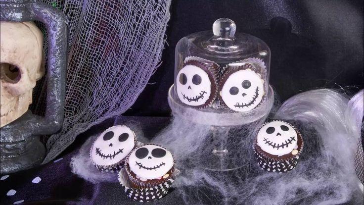 Skeletten cupcake recept voor Halloween