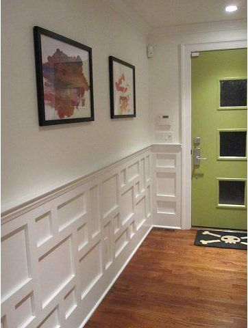 Classic modern wainscoting google search smart for Dining room wainscoting ideas