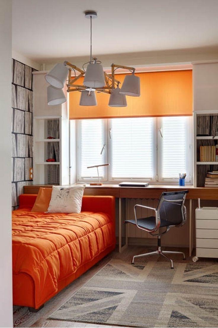 Интерьер московской квартиры от дизайнера Киры Чувелевой. Детская комната