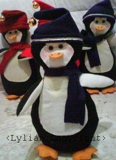 Patrón/ Pingüinos Navideños