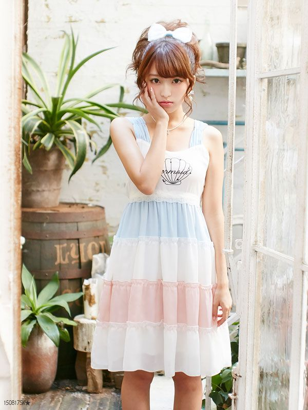 dreamv | Rakuten Global Market: -Book-[print chiffon or race ribonnoseliebmedium or long length dress | DM | PR | |] Dream vision ◆ 6/23 delivery appointment