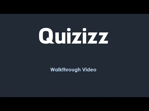Quizizz: Game Dashboard