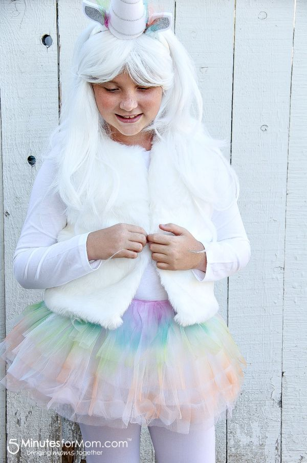 How to make a unicorn costume for kids for Halloween ...