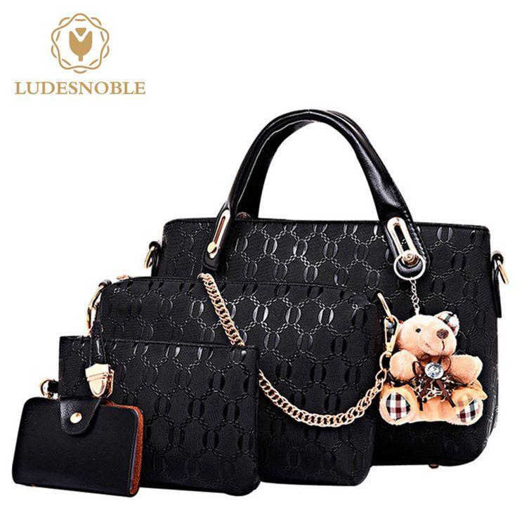 Price $23.30 LUDESNOBLE Bags Handbags Women Famous Brands Shoulder Bag Women Leather Handbags Shoulder Bag Female Bags Set bolsa feminina     Tag a friend who would love this!       Get it here ---> https://www.fashiondare.com/ludesnoble-bags-handbags-women-famous-brands-shoulder-bag-women-leather-handbags-shoulder-bag-female-bags-set-bolsa-feminina/