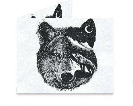 Dynomighty Artist Collective: Night wolf by barmalisiRTB Night wolf, wolf…