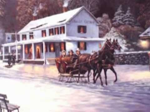 SLEIGH RIDE instrumental | Sleigh ride, One horse open sleigh, Cottage in the woods