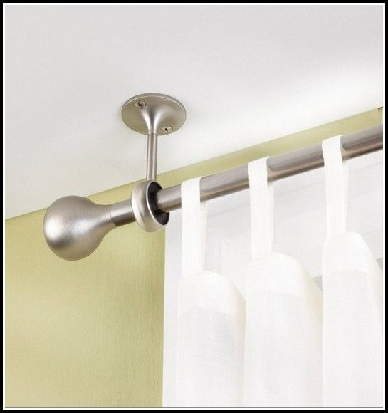 25 Best Ideas About Hanging Curtain Rods On Pinterest