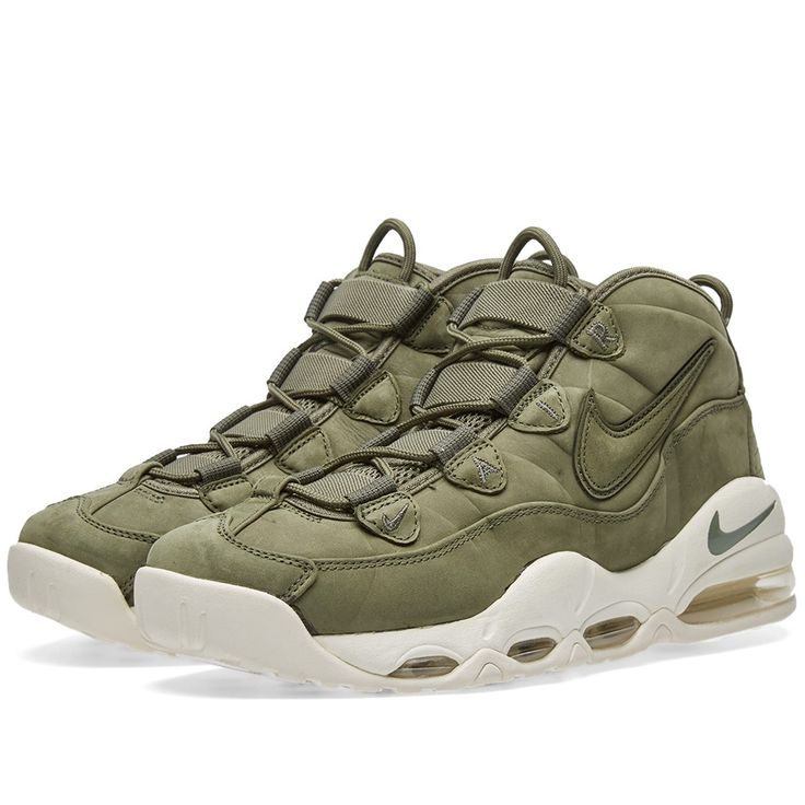 Continuing to reimagine retro silhouettes, Nike present a more lifestyle-oriented take on their Air Max Uptempo. Kitted out with plush leather and suede uppers in a new Urban Haze colourway with a subtle tonal Swoosh branding to the side wall, these premium kicks boast the original full-length visible Air throughout the midsole that gained them on-court renown back in the '90s.       Premium Leather & Suede Uppers Tonal Swoosh Branding Tonal Embroidered 'Air' to Eyestays Full-Length V...