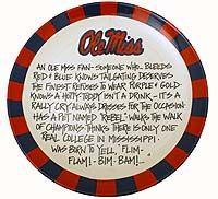 Ole Miss Fan Platter, $41.00