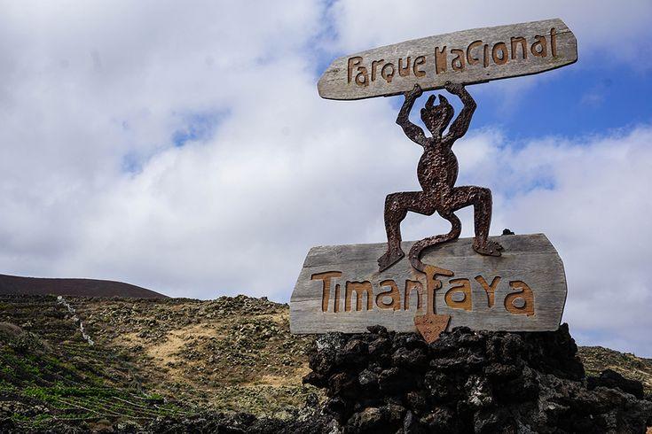 Lanzarote - Timanfaya - Welcome