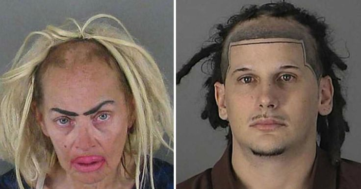 30 of the Worst Mugshot Haircut FAILs You'll Ever See