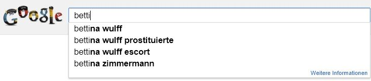 """#Bettina #Wulff and #Google: About the """"Streisand Effect"""""""