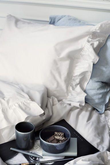Постельное белье с оборками | H&M