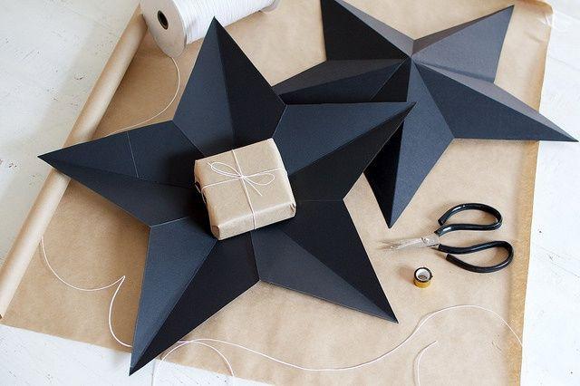 Как упаковать подарок... в звезду! (DIY) / Упаковка подарков / ВТОРАЯ УЛИЦА