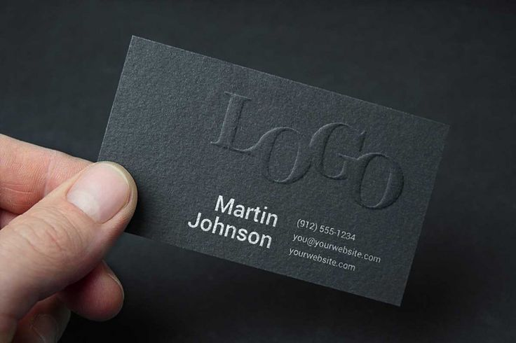 The 57 best business card mockup templates images on pinterest new embossed business card mock up conceived for dark themed designs and it includes smart reheart Choice Image