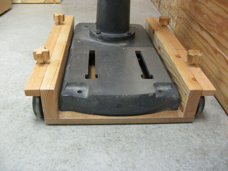 drill press cart - Google Search | Workshop | Pinterest