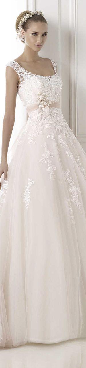 Pronovias 2015 wedding dress.