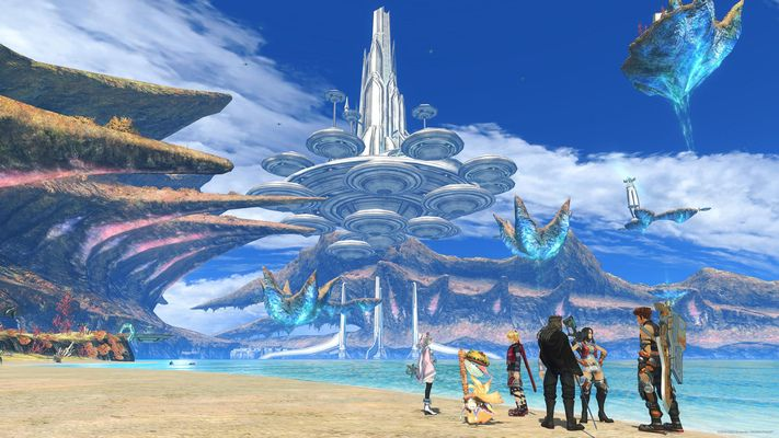Wallpapers Xenoblade Chronicles Definitive Edition Individuals Groups Rewards My Nintendo Xenoblade Chronicles Wallpaper Statue Of Liberty