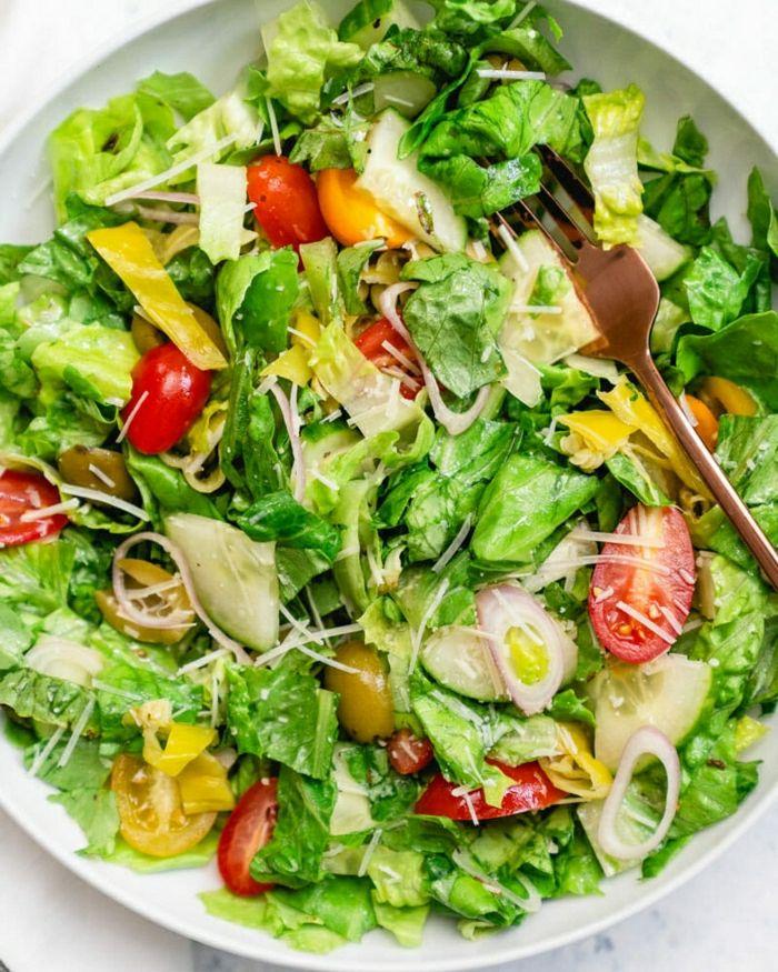 1001 Ideas De Ensaladas Verdes Saludables Y Ricas Verduras Ensaladas Ensaladas De Verduras