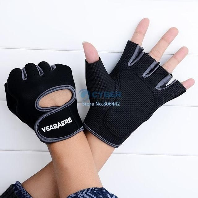 Gym Body Building Training Fitness Gloves Sports Weight Lifting Exercise Slip-Resistant Men Women Gloves #bodybuilding