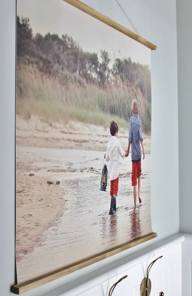 easy diy frame with large photo michele kats photography copy
