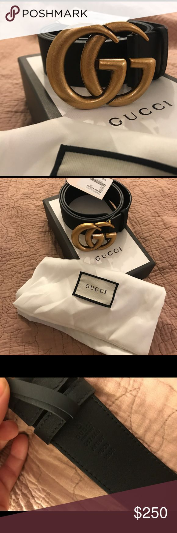 Brand new Gucci belt Comes with tag, dust cover, and box size 95cm Gucci Accessories Belts