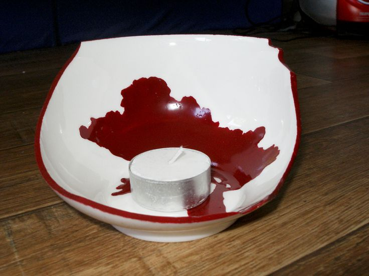 You might have broken a bowl, but thats a candle holder waiting to be made