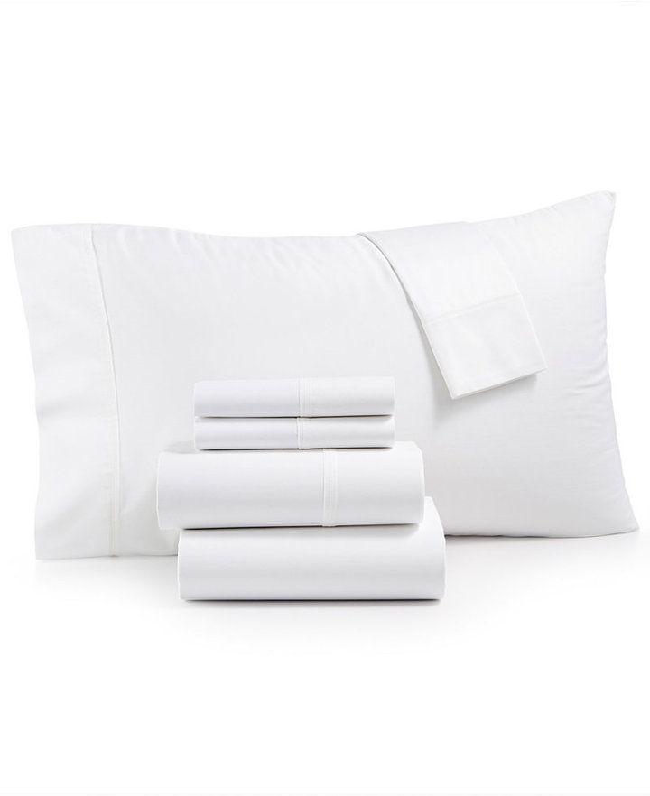 Westport Westbury Manor 400-Thread Count Cotton 6-Pc. Queen Sheet Set Bedding