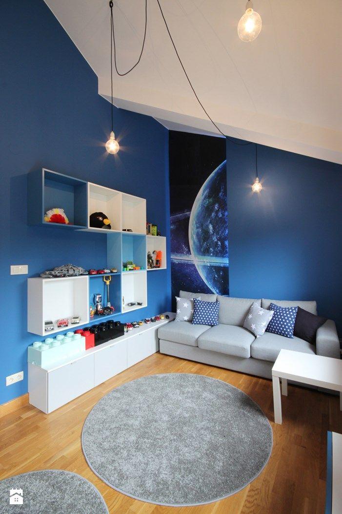 Pokój chłopca. - zdjęcie od 4ma projekt - Pokój dziecka - Styl Nowoczesny - 4ma projekt