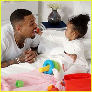 Chris Brown and Royalty Brown #ShowinTheLove