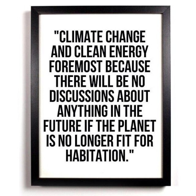 World leaders are coming together today in #NYC to talk about #climatechange at the UN Climate Summit in #NewYork. We have but one planet and we need to cherish it. #Climate2014 #climatejustice #CWNYC #PeoplesClimate