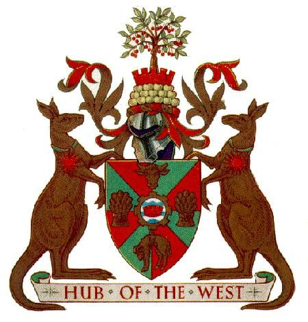 Dubbo Council coat of arms.