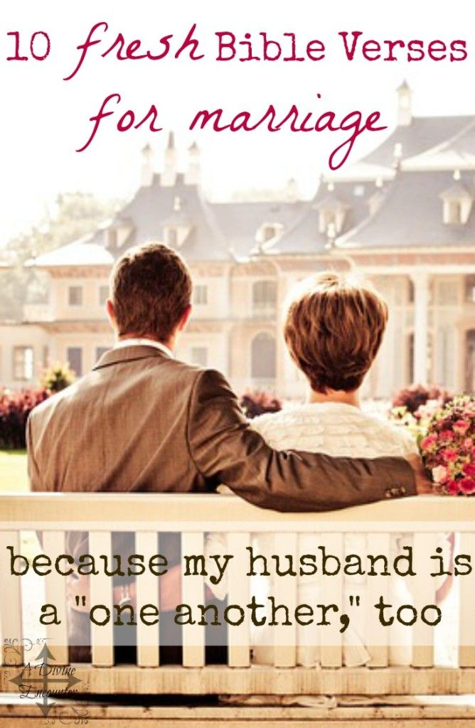 My Husband Is A One Another Too 10 Fresh Bible Verses For