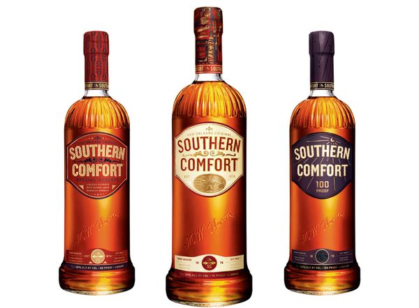 Southern Comfort by Cue , via Behance