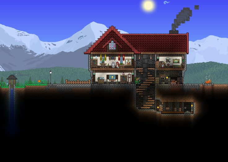 Nice terraria house terraria pinterest house nice for Terraria house designs