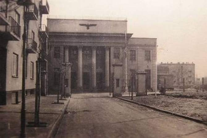 Dom Żołnierza, ul. Żwirki i Wigury 1939-1941 r.
