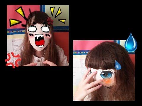 Kendin Yap- Anime Emoji Tokaları / Diy- Anime Emoji Hair Clips - YouTube