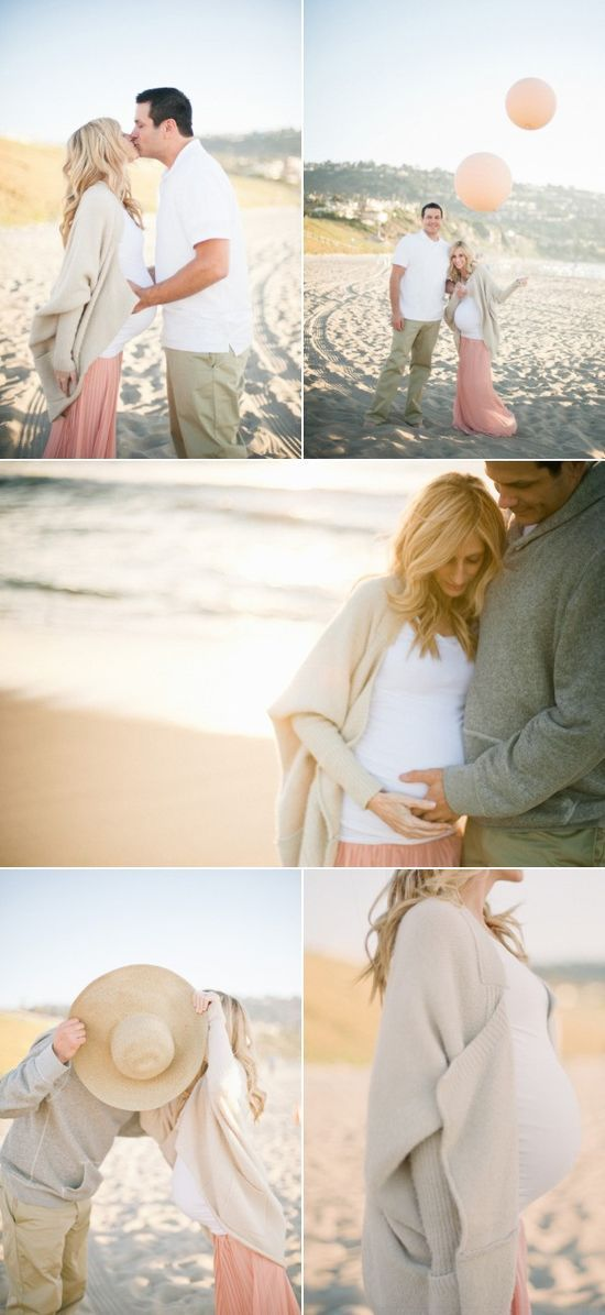 Pregnancy photo shoots are usualy awkaward and cheesy, but These are sweet pictures i love these gender reveal