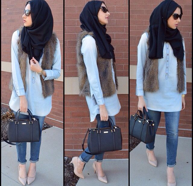 4785 Best My Casual Hijab Collection Images On Pinterest Hijab Outfit Modest Fashion And