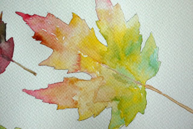 leaf painting techniques - photo #14