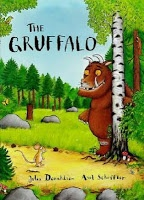 The Speech House: The Gruffalo & Social Skills-More Speech Therapy Goals! Recall colors, Story Sequencing/Story Telling, Learning Descriptive Words. From The Speech House. Pinned by SOS Inc. Resources http://pinterest.com/sostherapy.: Thegruffalo, Books Jackets, Kids Books, Books Worth, Pictures Books, Axel Scheffler, The Gruffalo, Children Books, Julia Donaldson