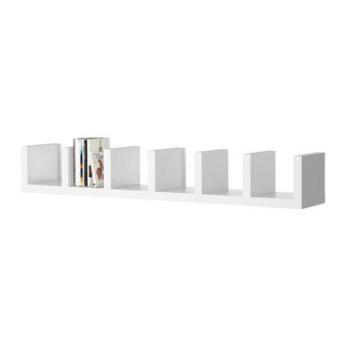 lack wall shelf unit red. Black Bedroom Furniture Sets. Home Design Ideas