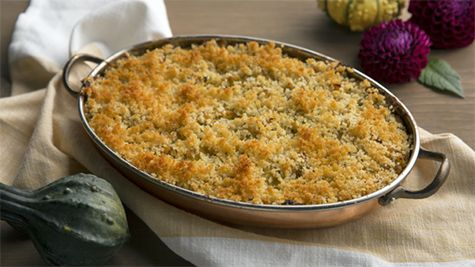 This Zucchini Squash Bake makes for delicious comfort food when the weather outside is frightful. Gluten free and vegetarian, it's chock full of nutritious zucchini plus protein-rich ricotta. Zucchini Squash Bake Ingredients: 1 small (about 2 pounds) kabocha, red kuri … Continue reading →