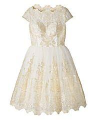 Chi Chi Embellished Midi Dress
